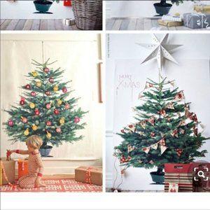 Ikea VINTER 2014 Christmas Tree fabric panel